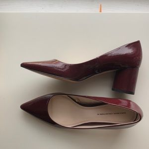 Gorgeous Zara pumps in wine color
